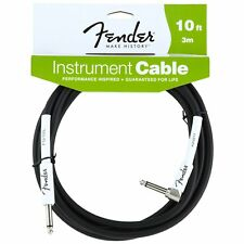 Genuine Fender Guitar Cable - 10 Performance Series PIES (3 metros) - ángulo Recto