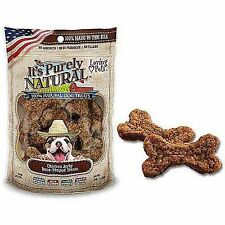 Loving Pets Purely Natural Chicken Jerky Bone Shaped Dog Treat 4oz