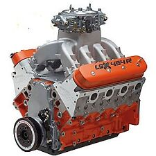 LSX454R ENGINE (.738-.800 CAM, SHAFT ROCKERS, CNC PORT HEADS FLOWING TO 420 CFM)