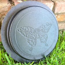 Butterfly Stepping Stone Paver Stone Plastic Mold Concrete Cement Mould