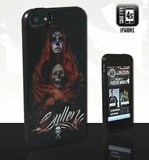 Authentic Sullen Clothing Acuna Badge Skull Iphone 4S Cell Phone Case Cover
