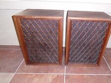 (2) VINTAGE PIONEER 4- WAY SPEAKERS~CS-88~JAPAN~WOOD~STANDING~All original~RARE