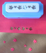 Craft Border Punches - Heart & Bird Handmade Card Making Edge Decoration Punch