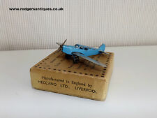 1936 RARE Dinky 60k PERCIVAL 'GULL' AIRCRAFT (Amy Mollison) Excellent with Box