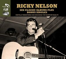 Ricky Nelson SIX (6) CLASSIC ALBUMS + SINGLES Sings Again RICK IS 21 New 4 CD