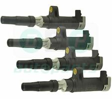 4 Pack of Pencil Ignition Coils  for Renault Clio Mk2 1.4 16V, 1.6 16V