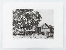 Vintage 1970's Samuel Chamberlain Land Of Our Fathers Talio Chrome Print