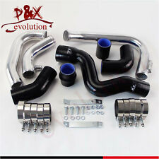 For 2002-2006 Audi A4 1.8T Turbo B6 Quattro Intercooler Piping pipe Kit Black