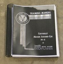 Chevrolet M-6 Armored Car Staghound T17E1 Operation and Maintenance Manual G-122