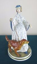 """ROYAL WORCESTER FIGURE """"FELICITY"""" - VICTORIAN LADIES SERIES - PERFECT & BOXED"""