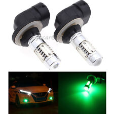 2x H27W/2 881 886 894 898 899 LED SMD Fog Light Daytime Projector Bulbs Green