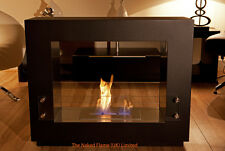 **Bio Ethanol Fire - The Naked Flame Quadrant Floor Standing £495RRP FREE P&P**
