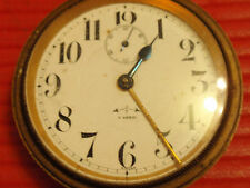 ANTIQUE SWISS POCKET WATCH NOT WORKING