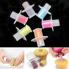 New Muffin Cupcake Corer Cake Decor Plunger Cutter Tools Home Kitchen Tool