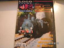 **c Loco Revue n°609 Draisines en N de vapeur 70 / Petite citerne à gazole