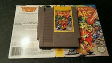 Bucky O Hare lot for Nintendo NES with box cutout