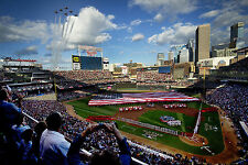 Thunderbirds perform flyover during the Major League All-Star Game-Minneapolis
