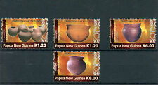 Papua New Guinea 2012 MNH Traditional Clay Pots 4v Set Cooking Madang Sepik