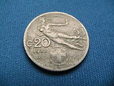 20 CENTESIMI di LIRE 1922