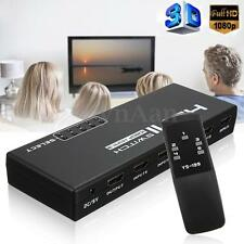 5Port HDMI Interruptor Switch Selector Splitter HUB+IR Remote 1080P PR HDTV PS3