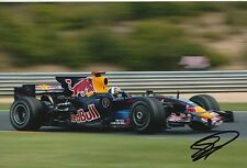 David Coulthard Hand Signed F1 Red Bull Racing 12x8 Photo 3.