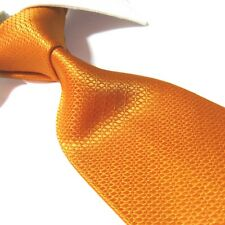 Extra Long Polyester Tie,Microfibre Deep Orange Men's XL Necktie PL351 63""
