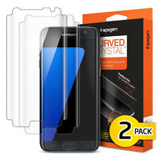 Spigen Curved Crystal Screen Protector Protection Flim for Samsung Galaxy S7Edge