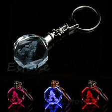 Crystal Z Super Saiyajin Goku LED Light Pendant Dragon Ball Dragonball Keychain