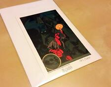 Mignola Hellboy Lithograph Print Signed & Numbered 2007- Wondercon Print #187