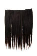 Haarteil breit Haarverlängerung 5 Clips glatt Braun-Mix 45cm L30173-2T33