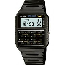 Casio Unisex Retro Vintage Black Calculator Stopwatch Sports Watch CA-53W-1ER