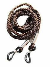 2 Brown Neck Cord Lanyard Glasses Strap Spectacle Holder Spectacles & Sunglasses