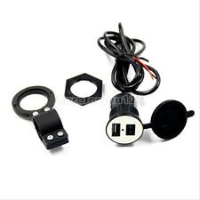 USB Motorcycle Mobile Phone Power Supply Charger Waterproof Port Socket 12V Hot