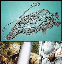 F  Filet  +crochets de casque allemand / German Helmet Net / Stahlhelm netz
