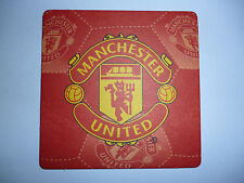 CIRCA 1980s  MANCHESTER UNITED BEERMAT, TYPE1