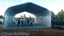 DuroSPAN Steel 16x16x12 Metal Buildings DIY Carport Structures Open Ends DiRECT