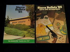 Vintage 1985 Sierra Bullets + Gifts & Accessories Gun Catalog Brochure Lot R930