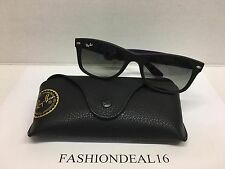 New Authentic Big New Wayfarer Rayban Black RB2132 6183/71 Italy Sunglasses