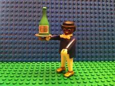 Playmobil - CUSTOM - Serveur Noir Belle époque 1900 + Champagne
