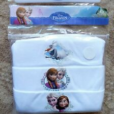 Disney Frozen Baby Girls Vests Age 3 - 4 Years -New - 100% Cotton