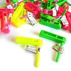 12 x MINI RATTLE CLACKER MUSIC TOY GIRLS BOYS CHILDREN FAVOR PARTY BAG FILLERS