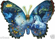 Jigsaw Puzzle Fantasy Butterfly Shaped By Sunsout Artisty Handmade Girls Gift 8+