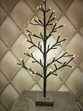 2Ft Pre-Lit Battery Operated Light up LED Twig Branch Christmas Tree Decoration