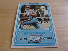 1981 Gary Carter Drakes #23 Card (Expos)  L@@K!!!