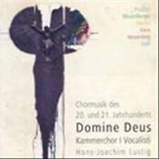 Domine Deus-Choral Music of the 20th & 21st Centur, New Music