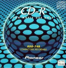 Pioneer CD-R for music use only 40 pcs./ 4 Box