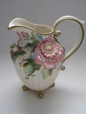 """Fitz & Floyd Spring in Bloom Pitcher - 9 1/4"""" high ***BEAUTIFUL***"""