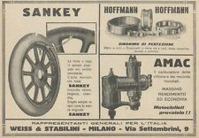 Z1805 SANKEY - Hoffmann - Amac - Pubblicità d'epoca - 1923 Old advertising