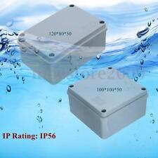 IP56 Waterproof Electronic Junction Project Box Outdoor Cable Enclosure Case