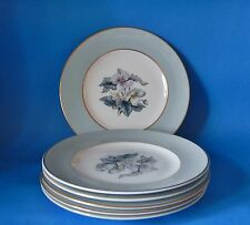 SIX ROYAL WORCESTER WOODLAND 6 INCH PLATES 155mm